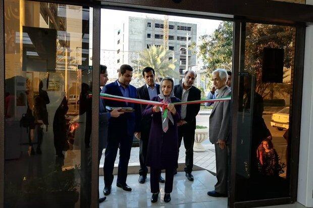 نمایشگاه ملی آثار تجسمی قلم مهتاب در بوشهر افتتاح شد