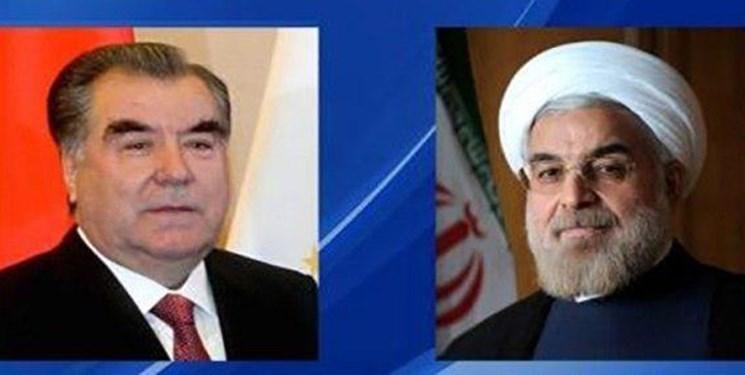 تبریک نوروزی روحانی به رئیس جمهور تاجیکستان