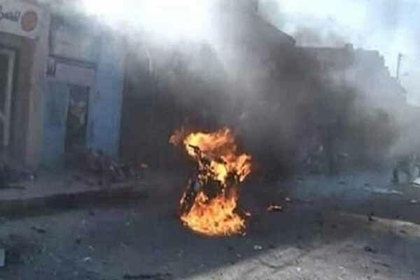 انفجار موتورسیکلت بمبگذاری شده در جنوب حسکه