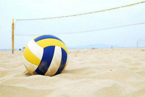 شروع هفتمین اردوی تیم ملی والیبال ساحلی ناشنوایان
