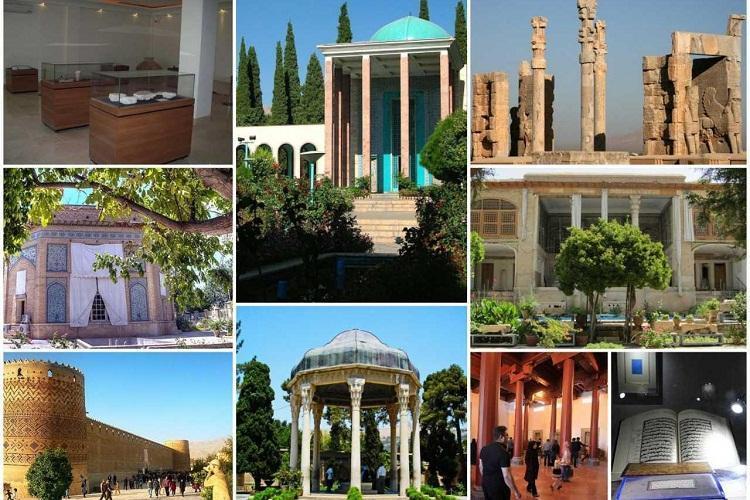 اعلام ساعت بازدید از اماکن تاریخی و فرهنگی استان فارس در فصل پاییز