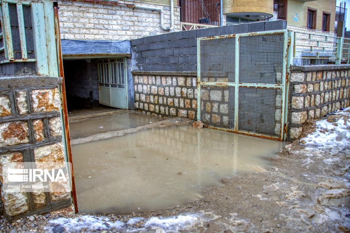 خبرنگاران خسارات 110 میلیارد ریالی سیل به تاسیسات آب شهری نورآباد