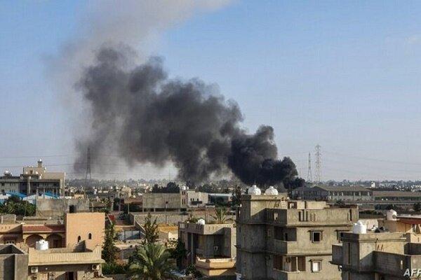 تداوم حملات هوایی ارتش لیبی به مواضع دولت وفاق ملی